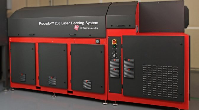 ZAL Zentrum für Angewandte Luftfahrtforschung to use laser peening system to study metal fatigue enhancement applications for the civil aviation